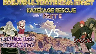 Game Naruto Ultimate Ninja Impact Kazekage Rescue Part 5