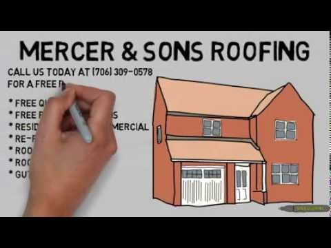 Storm Hail Damage Roof Repair Athens Ga - (706) 309-0578 Roofer in Athens GA