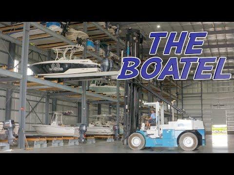 Kent Narrows Boatel - Game Changer for Boat Storage