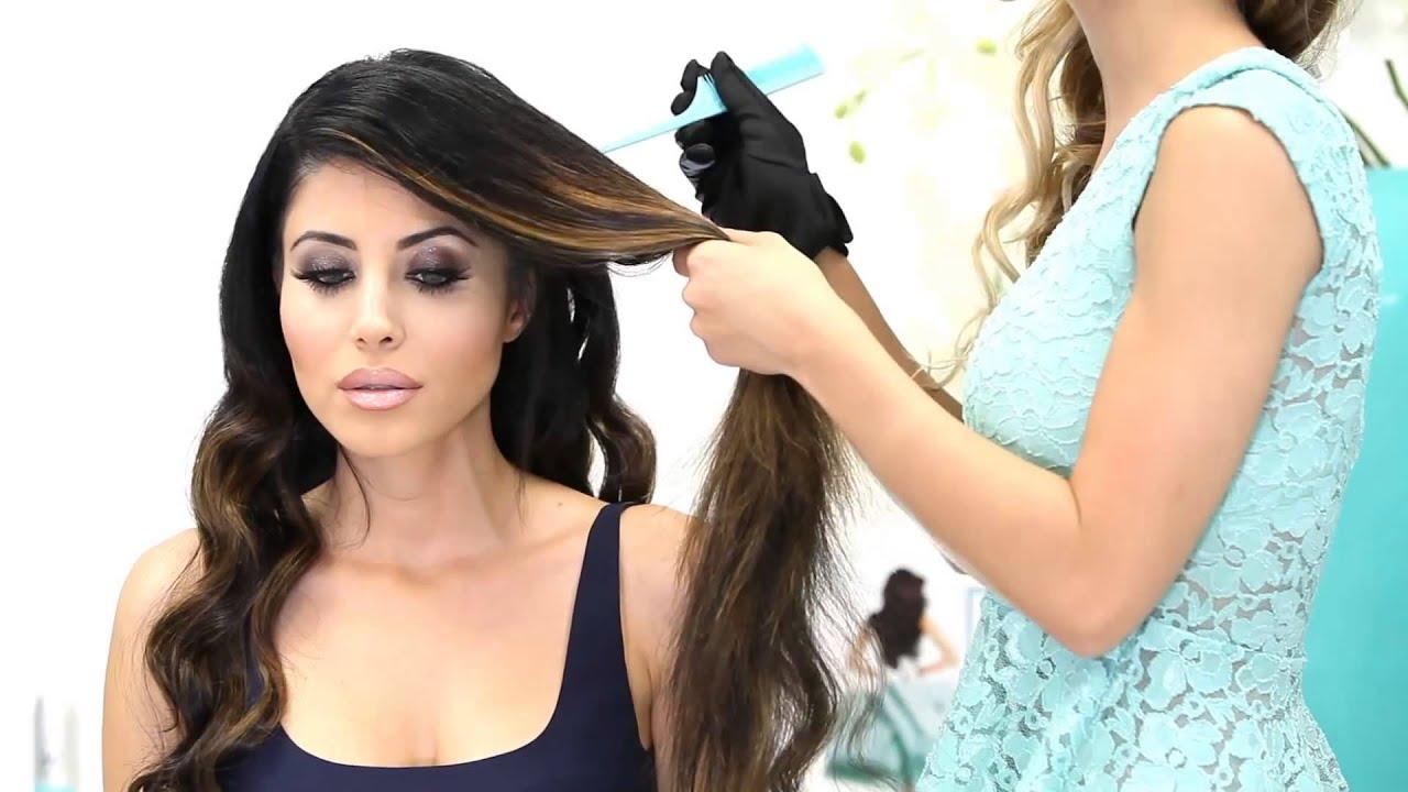 Old Hollywood Hairstyles Tutorial Leyla Milani Hair Youtube