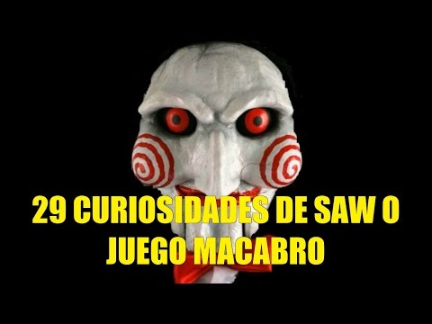 29 Curiosidades de Saw o Juego Macabro
