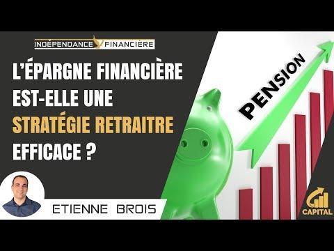 L'épargne financière est-elle une stratégie retraite efficace ?
