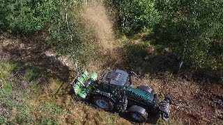 Maszyny leśne Fao Far w akcji!