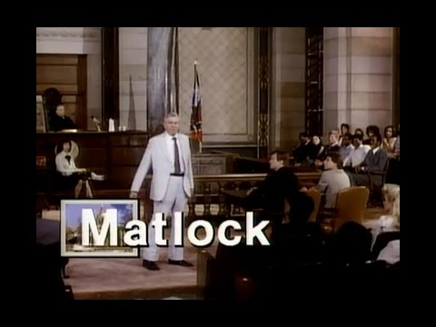 Matlock Opening Credits and Theme Song