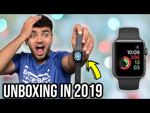 Apple Watch Series 3 GPS 42mm UNBOXING In 2020  + Giveaway Results !