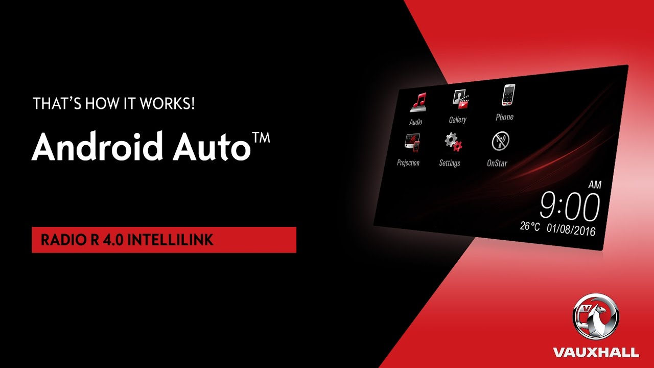 Android Auto R 4 0 Intellilink Vauxhall Youtube