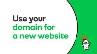Video How To Use A Domain To Create A New Website | GoDaddy