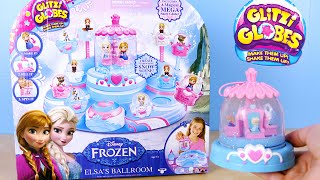 Disney Frozen Glitzi Globe Elsa's Ballroom - Diy Make Your Own Glitzi Globes Toy
