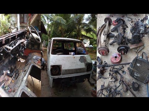 Toyota Liteace Restoration | Toyota Liteace Remove All Parts  (Part 2)