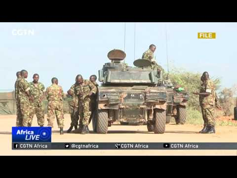 Somali President Abdullahi Farmajo joins army in celebrating 57th anniversary