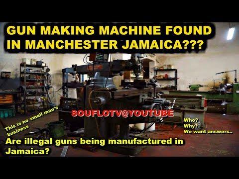 Gun Making Machine found in Jamaica Manchester, This is Big