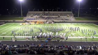 """When Midnight Comes"" - Hebron HS Band 10/31/2014"