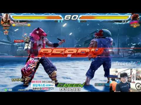 2016/08/03 Tekken 7 FR Knee's Stream 무프리카!