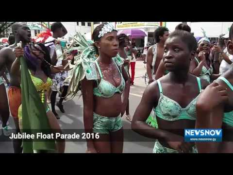 Guyana Jubilee Float Parade 2016
