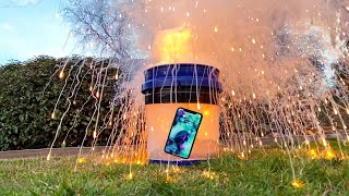 Dropping Explosive Sodium Metal in Water vs iPhone 11 Pro! What Happens?