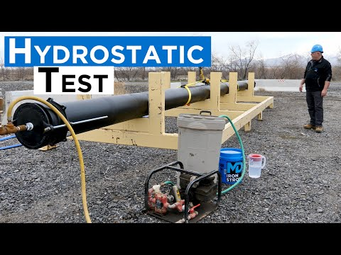 How to Conduct a Hydrostatic Test on Ductile Iron Pipe
