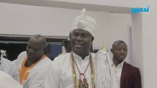 SEE HOW OONI OF IFE OFFICIAL VISITING TO MR. SOWEMIMO ABIODUN INFOMETRIQ COMPANY