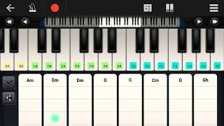 VIP smile with pain piano notes || Aniruth ||@ EPM Studio.H