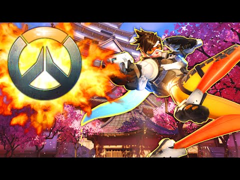 AMAZING OVERWATCH Tracer Gameplay  BOMBS AWAY