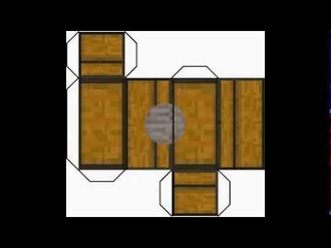 Cosas de minecraft para armar youtube for Sillas para armar y recortar