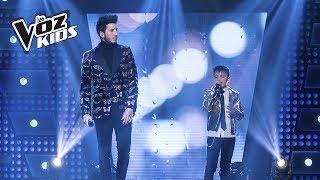 Gambar cover Juanse y Sebastián Yatra cantan Que Lloro | La Voz Kids Colombia 2018