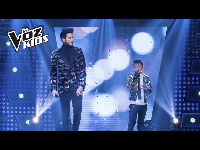Juanse y Sebastián Yatra cantan Que Lloro | La Voz Kids Colombia 2018