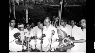G N Balasubramaniam Thiruvayyaru Thyagarjag Utsavam