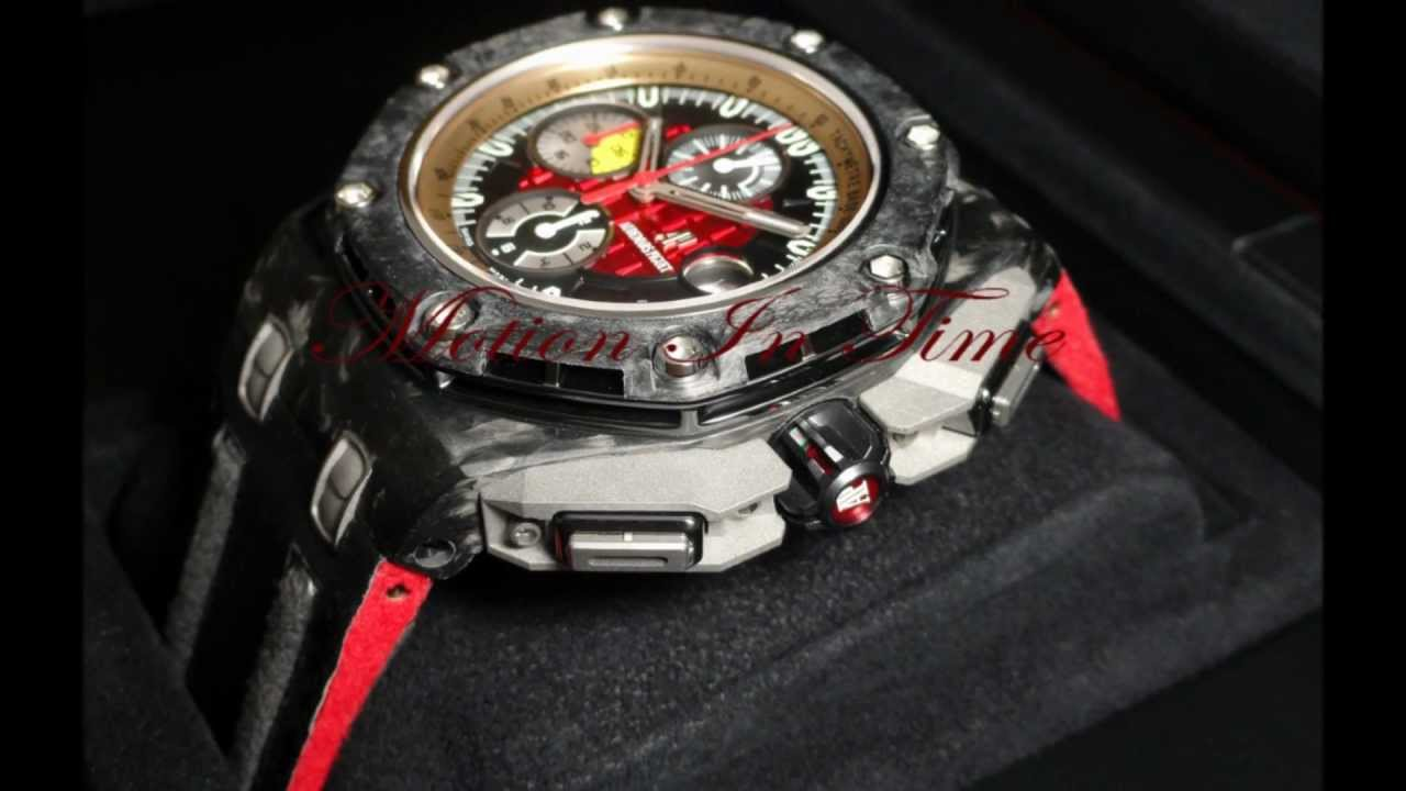 Audemars Piguet Ap Grand Prix Carbon Offshore Limited 1750 Pcs