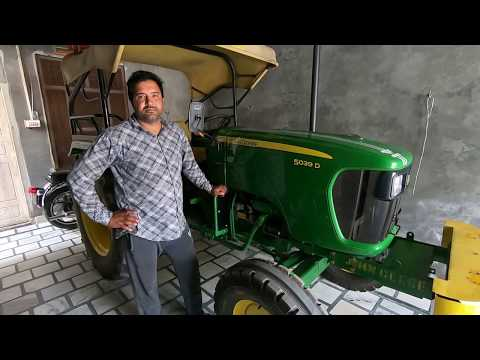 John Deere 5039 D Tractor Customer Review By Anand