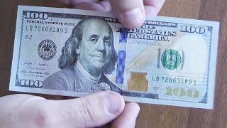 Как делать поддельные доллары в домашних условиях НО ВЫ ТАК НЕ ДЕЛАЙТЕ!