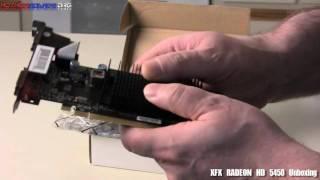 XFX ATI RADEON HD 5450 Unboxing