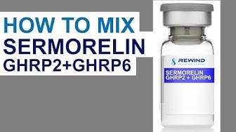How to Mix Sermorelin / GHRP2 / GHRP6. Reconstitution Advice