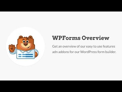 WPForms Overview - Best WordPress Contact Form Plugin