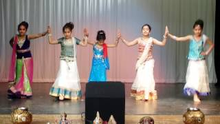 Hindi Fusion Dance by Kids