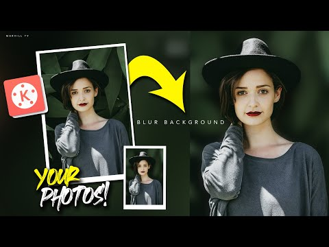 Editing YOUR Photos in Kinemaster | How to Blur Background