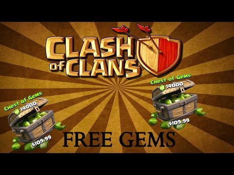 Clash of Clans - HOW TO GET FREE GEMS!! Everyday!