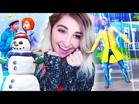 🌸🌧️ THE SIMS 4 SEASONS 🍂❄️ // TRAILER REACTION