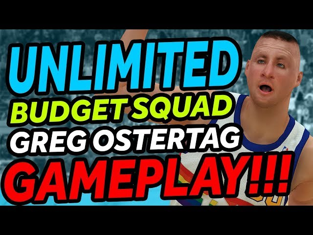 NBA 2K19 - MyTeam - Unlimited - Greg Ostertag GAMEPLAY!