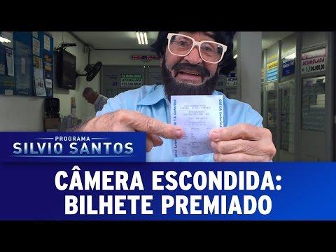 """Câmera Escondida (07/08/16) - Remake da Pegadinha """"Bilhete Premiado"""""""