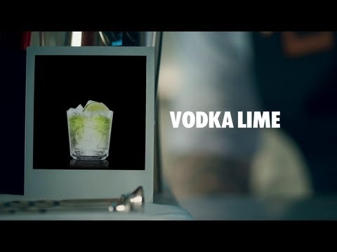 VODKA LIME DRINK RECIPE - HOW TO MIX