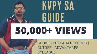 KVPY SA COMPLETE GUIDE by KVPY scholar | BOOKS | TIPS | Kishore Vaigyanik Protsahan Yojna