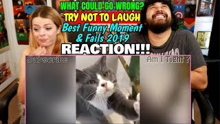 What Could Go Wrong - TRY NOT TO LAUGH - Best Funny Moment & Fails 2019 😂    REACTION!!!