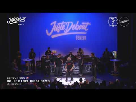 Sekou Heru - Judge demo Juste Debout Geneva 2020