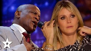 UNBELIEVABLE Audition Gets Heidi Klum Emotional on America's Got Talent 2020 | Got Talent Global