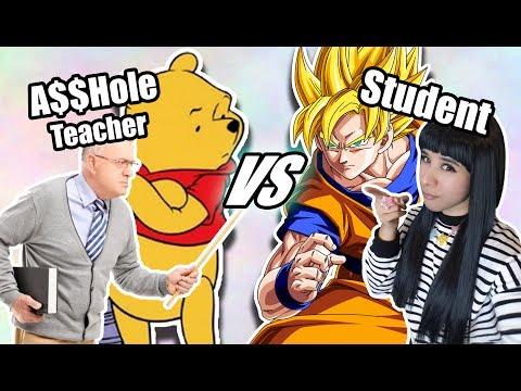 ART BATTLE: A$$HOLE TEACHER vs ME❤ Story Time with senpai ❤