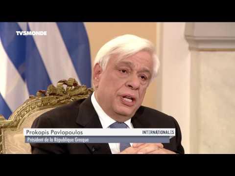 """Prokopis Pavlopoulos sur TV5MONDE : """"L'austérité est au détriment de toute l'Europe"""""""