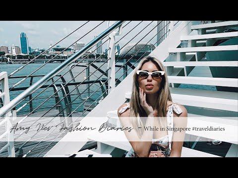 WHAT I DID IN SINGAPORE-TRAVEL DIARIES||amynevfashiondiaries