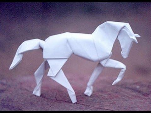 Papercraft Origami horse