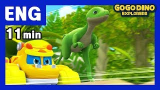 🌟 [Season 3]GOGODINO EXPLORERS ENG Chapter 4) Syntarsus🌟 / ENG / Dinosaur / dino /  children