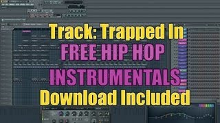 Free Hip Hop Instrumental (Track:Trapped In (Trap Beat) Free Mp3 Download Included)